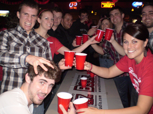 Красные стаканы в жизни